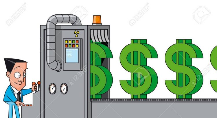 Maquina De Dinero bajos tipos interes